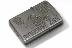 Zippo ジッポー 絶版・1994年製造 HAND SHOT ZIPPO 357 MAGNUM