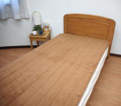 アルミシート入り マイクロファイバー 敷きパッド ダブル とろけるような 肌ざわり 贅沢敷きパッド【送料無料】