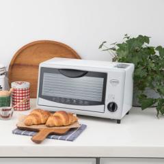 トースター オーブントースター FO-06 GY グレー トースト2枚 コンパクト【送料無料】
