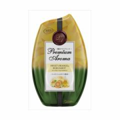 エステー お部屋の消臭力 プレミアムアロマ Premium Aroma 消臭芳香剤 部屋用 スイートオレンジ/ベルガモットの香り(代引不可)