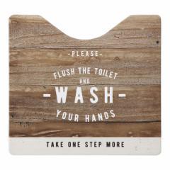 ベストコ トイレマット スクエア ルール ナチュラル さらっと拭ける お手入れ簡単 ND-9954