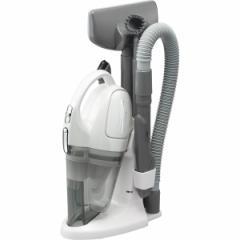 ツインバード コードレスハンディークリーナーサットリーナサイクロン パールホワイト 電化製品 掃除機 HC-5235PW(代引不可)