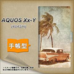 メール便送料無料 AQUOS Xx-Y 404SH 手帳型スマホケース 【 620 憧れの時-CAR 】横開き (アクオス ダブルエックス ワイ 404SH/404SHY用/
