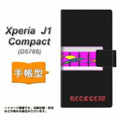 メール便送料無料 Xperia J1 Compact 手帳型スマホケース 【 YC873 窓02 】横開き (エクスペリア J1 Compact/D5788用/スマホケース/手帳