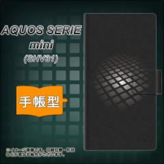 メール便送料無料 au AQUOS SERIE mini SHV31 手帳型スマホケース 【 607 サイエンスコア 】横開き (アクオス セリエ ミニ SHV31/SHV31用