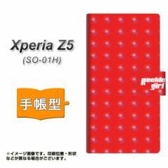 メール便送料無料 docomo Xperia Z5 SO-01H 手帳型スマホケース 【 YC876 ポルカ01 】横開き (エクスペリアZ5 SO-01H/SO01H用/スマホケー