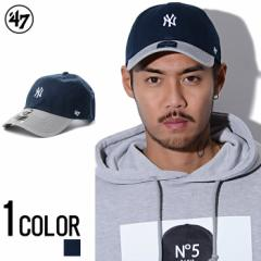 47Brand【フォーティーセブン】Yankees Centerfieid 47 CLEAN UP Navy×Gray /全1色 trend_d メンズ ビター系