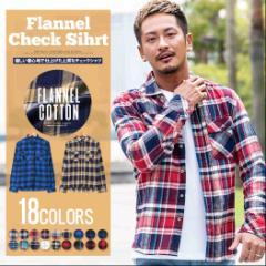 チェックシャツ ネルシャツ チェック メンズ 長袖 シャツ 秋 VICCI ビッチ 全18色 trend_d メンズ ビター系 BITTER系