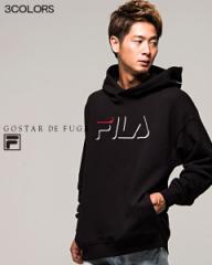 GOSTAR DE FUGA FILA ゴスタールジフーガ フィラ 別注 ロゴ プリント プルオーバー パーカー 全3色 返品・交換対象商品 メンズ トップス