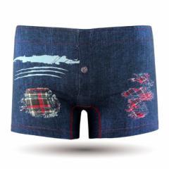 【お取り寄せ商品】DARK SHINY メンズ ボクサーパンツ Ripped jeans/全1色【ご注文から1週間〜10日前後】メンズ (■)