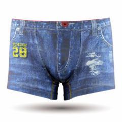 【お取り寄せ商品】DARK SHINY メンズ ボクサーパンツ Emblem jeans/全1色【ご注文から1週間〜10日前後】メンズ (■)
