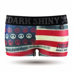 【お取り寄せ商品】DARK SHINY レディース ボクサーパンツ The Stars and Stripes/全1色【ご注文から1週間〜10日前後】