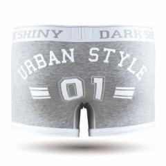 【お取り寄せ商品】DARK SHINY Mens Boxer Pants Lucky Number Gray/全1色【ご注文から1週間〜10日前後】メンズ (■)