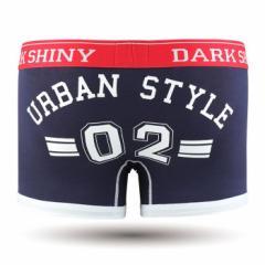 【お取り寄せ商品】DARK SHINY Mens Boxer Pants Lucky Number Mood Indigo/全1色【ご注文から1週間〜10日前後】メンズ (■)