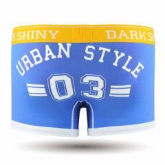 【お取り寄せ商品】DARK SHINY Mens Boxer Pants Lucky Number Palace Blue/全1色【ご注文から1週間〜10日前後】メンズ (■)