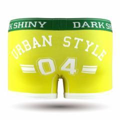 【お取り寄せ商品】DARK SHINY Mens Boxer Pants Lucky Number Blazing Yellow/全1色【ご注文から1週間〜10日前後】メンズ (■)