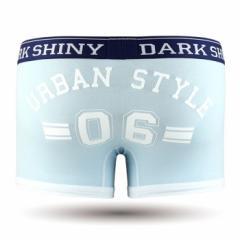 【お取り寄せ商品】DARK SHINY Mens Boxer Pants Lucky Number Aqua Marine/全1色【ご注文から1週間〜10日前後】メンズ (■)
