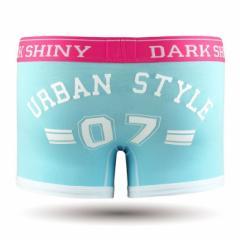 【お取り寄せ商品】DARK SHINY Mens Boxer Pants Lucky Number Capri Blue/全1色【ご注文から1週間〜10日前後】メンズ (■)