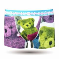 【お取り寄せ商品】DARK SHINY メンズ ボクサーパンツ Bear/全1色【ご注文から1週間〜10日前後】メンズ ビター系 (■)
