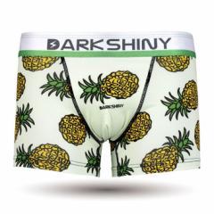 【お取り寄せ商品】DARK SHINY メンズ ボクサーパンツ Pineapple/全1色【ご注文から1週間〜10日前後】メンズ ビター系 (■)