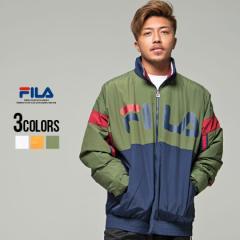 ジャケット メンズ プルオーバー トラックジャケット FILA フィラ Wind-Up Pull over jacket 全3色 即日発送 ジップアップ ストリート系