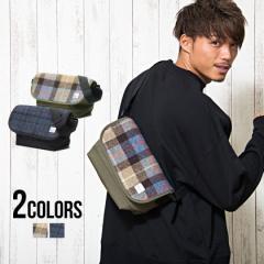 メッセンジャーバッグ ハリスツイード 英国 羊毛 HARRIS TWEED ハリスツイード メッセンジャー BAG 全2色 即日発送 メンズ ショルダー 鞄