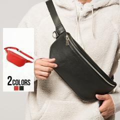 SB select シルバーバレットセレクト PUレザーボディバッグ/全2色 メンズ カバン 鞄 斜め掛け ワンショルダーバッグ ブラック