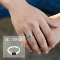 SB select シルバーバレットセレクト ターコイズ シンプル デザイン シルバー925 フリーサイズ リング 即日発送 メンズ 指輪 アクセ