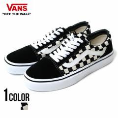 VANS バンズ Old Skool Lite Blk Wht Chk 全1色 即日発送 vans スニーカー メンズ 靴 オールドスクール ブラック ホワイト ストリート