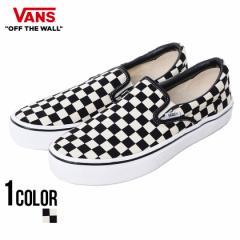 VANS バンズ Slip On Lite Blk Wht Chk 全1色 即日発送 vans スニーカー メンズ 靴 スリッポン チェック柄 ブラック ホワイト 黒 白