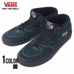 VANS バンズ Half Cab Black Outsole  Darkest Spruce Black 全1色 即日発送 vans スニーカー メンズ 靴 スケートボード ハーフキャブ