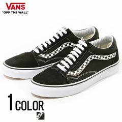 VANS バンズ Ua Old Skool(Sidestripe V) Black True White 全1色 即日発送 スニーカー メンズ 靴 オールドスクール 黒 白 チェッカー