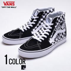 vans スニーカー メンズ ハイカット VANS バンズ Ua Sk8-Hi Vans Patch Black True White 全1色 即日発送 vans 靴 ストリート