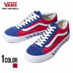 VANS バンズ Style 36 Bmx Checkerboard True Blue Red 即日発送 vans スニーカー メンズ 靴 オールドスクール レトロ チェック レッド
