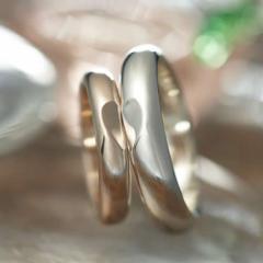 ペアリング シルバー 刻印無料 One Love FISS-SH1-PK (FISS-MSD) ピンクシルバー デザイン ペア 指輪 刻印 7号 大きいサイズ 偶数号 カッ