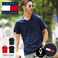 【さらに15%OFFクーポン】TOMMY HILFIGER トミー ヒルフィガー Tシャツ メンズ【送料無料】トップス カットソー 半袖Tシャツ ブランドロ