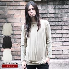 ロンT メンズ メンズ Tシャツ 長袖Tシャツ カットソー ヴィジュアル系 V系 SEANA JIGGYS / カットスエードレイヤードTシャツ