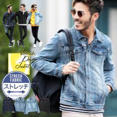 デニムジャケット メンズ Gジャン ジャケット カジュアル アウター 送料無料 trend_d roshell JIGGYS / スーパーストレッチGジャン