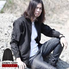 ブルゾン メンズ ジャケット アウター 送料無料 ヴィジュアル系 V系 SEANA JIGGYS / エアーベントリブブルゾン