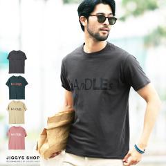Tシャツ メンズ トップス trend_d roshell JIGGYS / ロゴピグメント加工Tシャツ