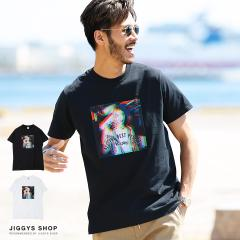 Tシャツ メンズ 半袖 カットソー トップス trend_d JIGGYS / レディーフォトFRUITプリントTシャツ
