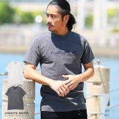 Tシャツ カットソー メンズ トップス trend_d JIGGYS / エンボス加工クルーネックTシャツ