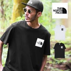 【クーポン対象外】【送料無料】THE NORTH FACE (ノースフェイス) ボックス ロゴ 半袖Tシャツ Tシャツ メンズ 登山 アウトドア グランピ