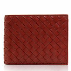 ボッテガヴェネタ BOTTEGA VENETA 財布 二つ折り財布 メンズ レザー ブラウン ブランド 148324-v4651-6332 新品