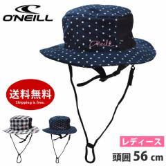 30%OFF アウトレット サーフハット レディース 帽子 ONeill オニール 627919 UVカット ベルト付き キャンプ アウトドアハット サマーハ