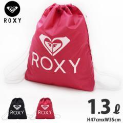ROXY (ロキシー) ナップサック デイパック ロゴ柄 ナップザック 04064 プールバッグ シューズバッグ マチ付き スポーツバッグ リュックサ