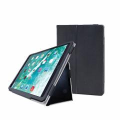 エレコム 2017年新型 iPad Pro 10.5 フラップカバー ソフトレザー 2アングルスタンド 軽量 ブラック TB-A17PLFBK