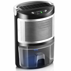 MISSPET 小型 除湿機  空気乾燥機 1L容量 省エネ 自動停止 部屋干し カビ防止 押入れ 寝室 書斎 トイレ