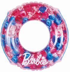 ドウシシャ 浮き輪 バービー ジュエリー 100cm