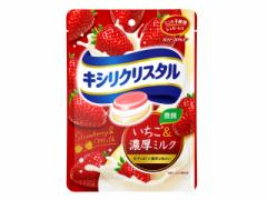 モンデリーズ・ジャパン キシリクリスタルいちご&濃厚ミルク 59g×6袋